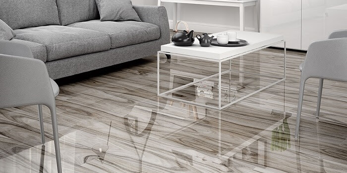 Wood visual floor tile - Tile Trend